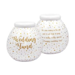Giant Wedding Day Fund Pot of Dreams